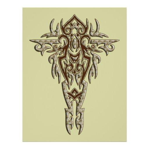 Christian Ornate Cross 9 Flyer Design