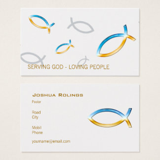 Christian | Pastor | Priest Business Card