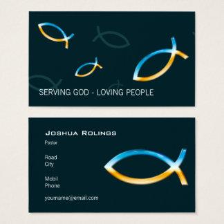 Christian   Pastor   Priest Business Card