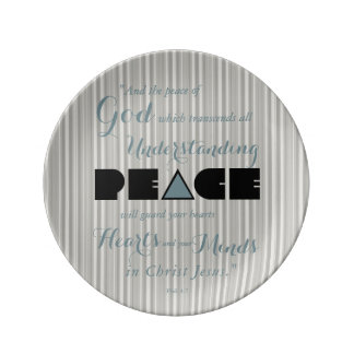 Christian Peace of God Plate