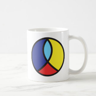 Christian Peace Sign Coffee Cup