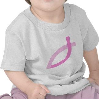 Christian Pink Fish Shirt