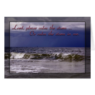 Christian Prayer Greeting Card
