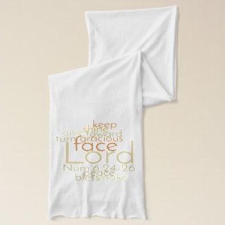 Christian Priestly Blessing Jersey Scarf