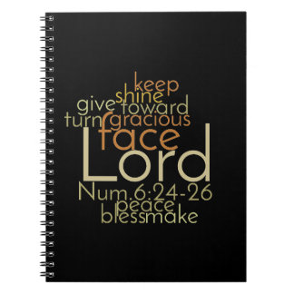 Christian PRIESTLY BLESSING Prayer Notebooks