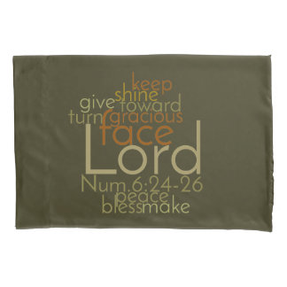 Christian PRIESTLY BLESSING Prayer Pillowcase