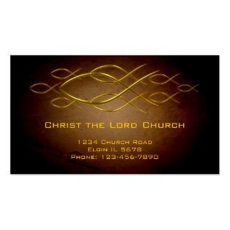 Christian Profile Card Pack Of Standard Business Cards
