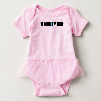 Christian Prophetic Spiritual Warfare THRIVER Baby Bodysuit