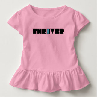 Christian Prophetic Spiritual Warfare THRIVER Toddler T-Shirt