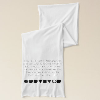 Christian Prophetic SURVIVOR Prayer Scarf