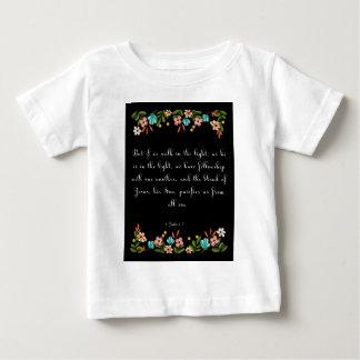 Christian Quote Art - 1 John 1:17 Tee Shirts