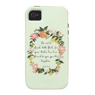 Christian Quote Art - Luke 12:32 Case-Mate iPhone 4 Case