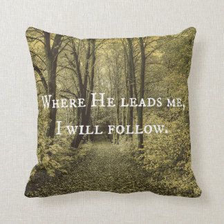 Christian Quote Cushion