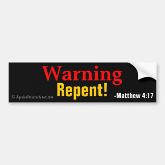 Christian Quotes Bumper Sticker