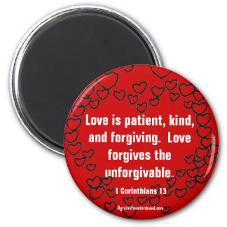 Christian Quotes Inspirational 6 Cm Round Magnet