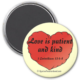 Christian Quotes Inspirational 7.5 Cm Round Magnet