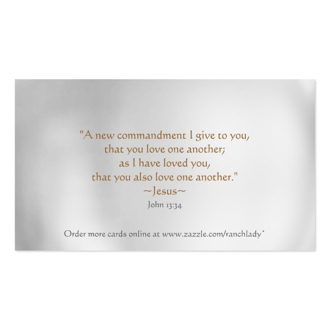 CHRISTIAN Random Acts of Kindness wallet cards Business Card Templates