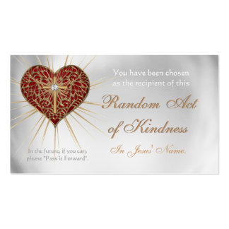 CHRISTIAN Random Acts of Kindness wallet cards Business Cards