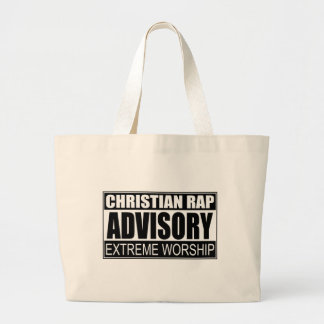 Christian Rap Advisory Bag
