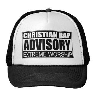 Christian Rap Advisory... Cap