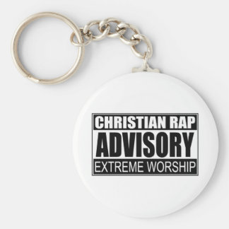 Christian Rap Advisory... Key Chain