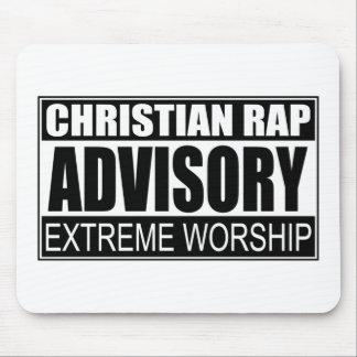 Christian Rap Advisory... Mouse Pad