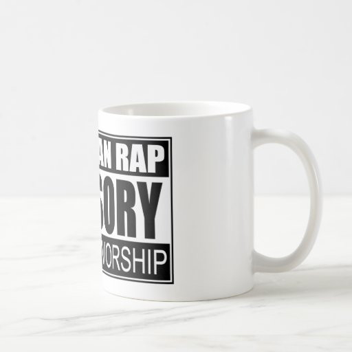 Christian Rap Advisory... Mugs