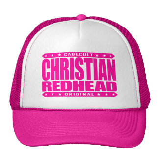 CHRISTIAN REDHEAD - I'm God's Fiery Phoenix Rising Cap