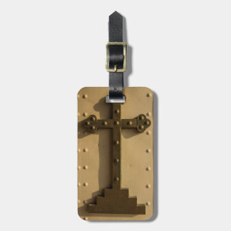 Christian religious cross, Iraq Luggage Tag