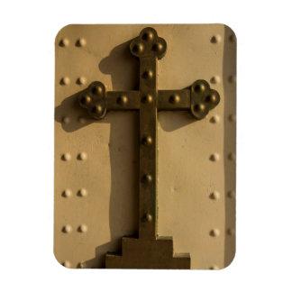 Christian religious cross, Iraq Rectangular Photo Magnet