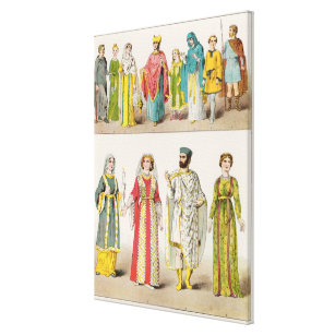 Christian Roman Dress Canvas Print