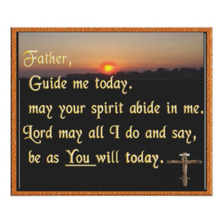 Christian scripture poster