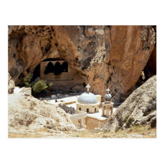 Christian shrine, Ma'lula, Syria Postcard