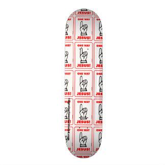 Christian Custom Skateboard