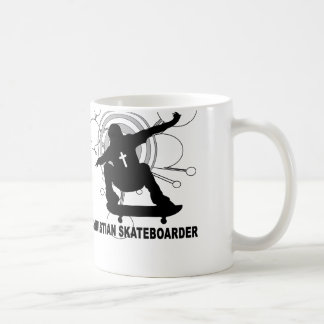 Christian Skateboarder Classic White Coffee Mug