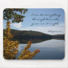 Christian Strength Mouse Mat