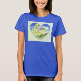 Christian T-shirt, Apparel  with heart design T-Shirt