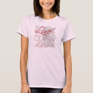 Christian T-Shirt, Love Bible Scripture T-Shirt