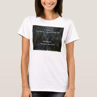Christian Thou Shalt Not Tempt the Lord thy God T-Shirt