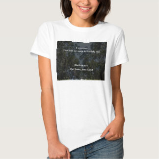 Christian Thou Shalt Not Tempt the Lord thy God T Shirts