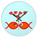 Christian Valentine Orange v2 Clock