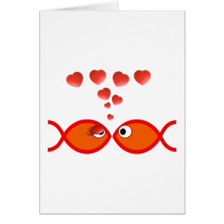 Christian Valentine Orange v2 Greeting Card
