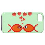 Christian Valentine Orange v2 iPhone 5 Cover