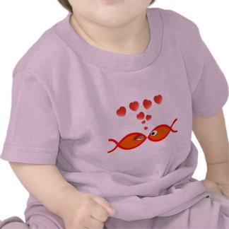 Christian Valentine Orange v2 T-shirts