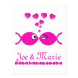 Christian Valentine Pink v1 Postcards