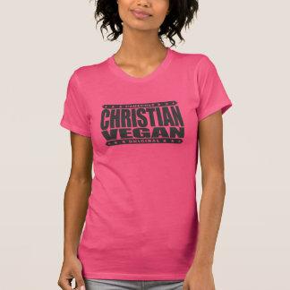 CHRISTIAN VEGAN - God Loves Plant-Based Believers Tee Shirt