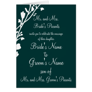 Christian Wedding Invitation-Two Are Better Greeting Card