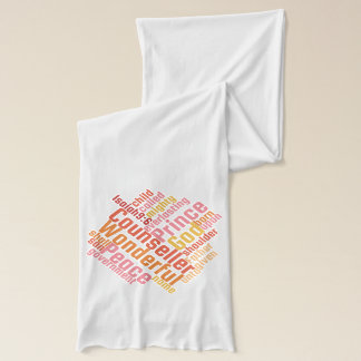Christian Wonderful Counselor Jersey Scarf