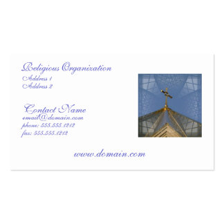 Christian Worship Business Card