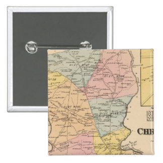Christiana 15 Cm Square Badge